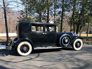 1930 Packard 740 Club Sedan Philco Radio Showcar