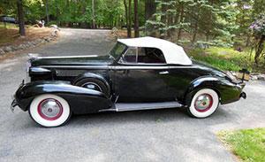 1937 Cadillac Convertible Coupe
