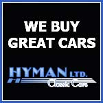 Contact our sponsor, Hyman ltd. Collector Cars